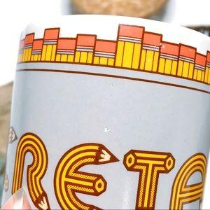 """Vintage Kitchen - VINTAGE """"SECRETARY"""" Pencil Graphic Coffee Cup/ Mug"""